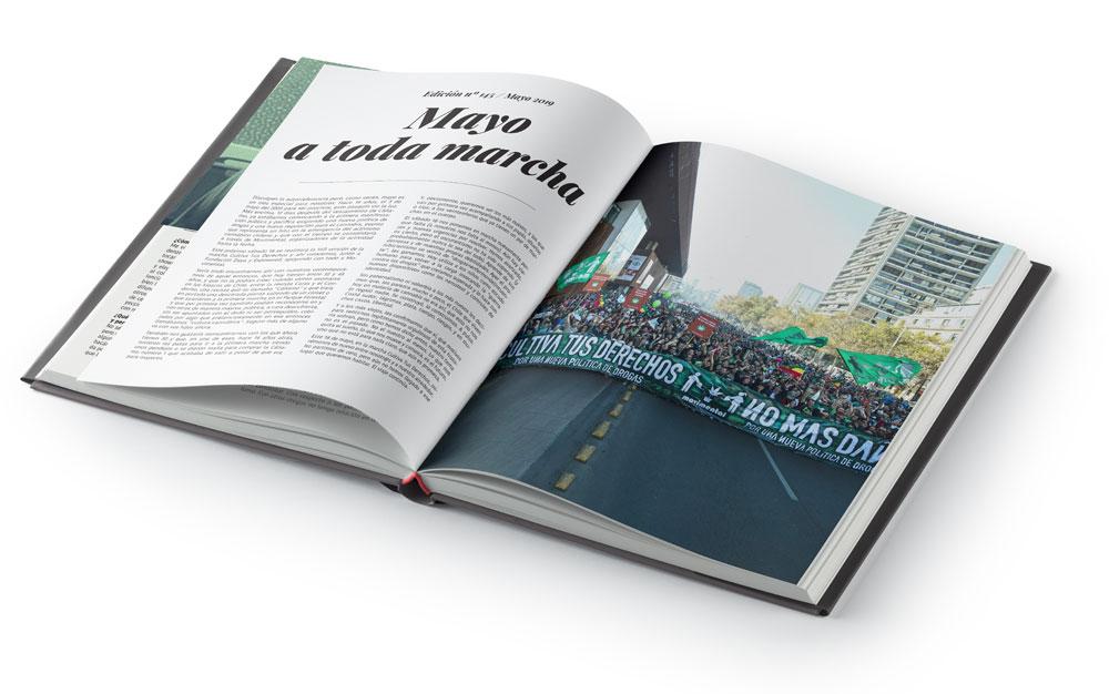 Libro aniversario revista Cáñamo